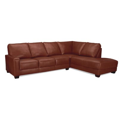 World Class Furniture Mabel Leather Sectional