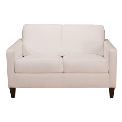 World Class Furniture Malo Leather Loveseat