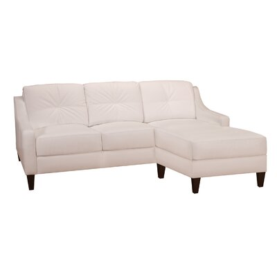 Melanie Leather Sectional
