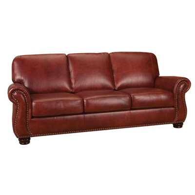 Mackenzie Leather Sofa