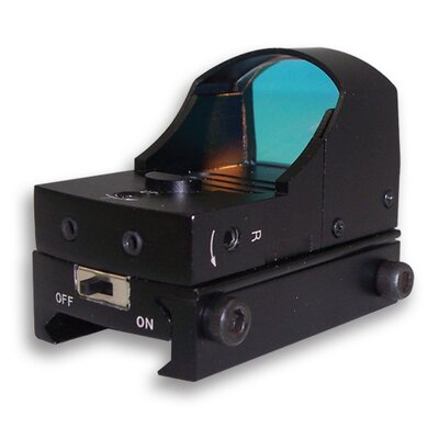 NcSTAR Compact Tactical Red Dot ReflexSight in Black
