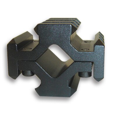 NcSTAR Universal Barrel Quad Weaver Base Mount in Black