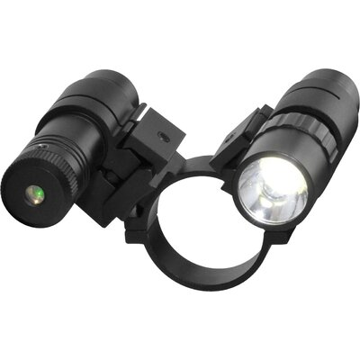 Mark III Scope Adapter / Flashlight / Laser Set in Green