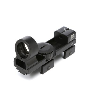 1x25 Red and Green Dot ReflexSight in Black