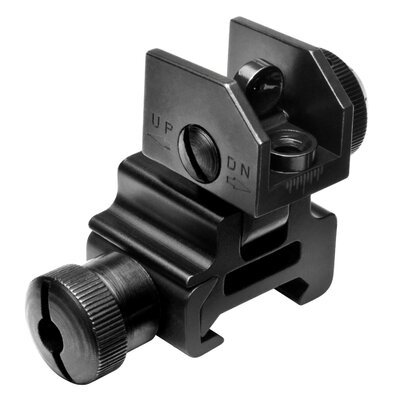 NcSTAR Flip Up Rear Sight