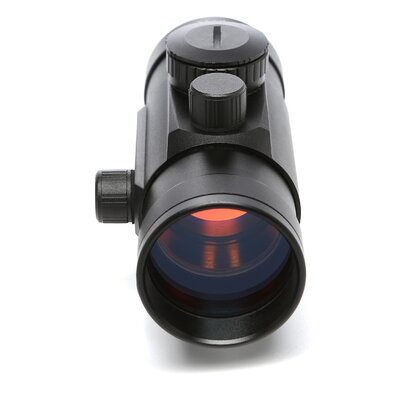 NcSTAR 1x45 T-Style Red Dot Sight with Weaver Base in Black