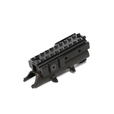 NcSTAR SKS Receiver Cover Tri-Rail Weaver Scope Mount in Black