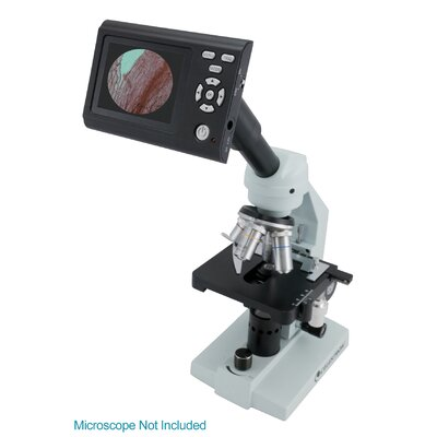 Digital LCD and Camera Microscope Accessory