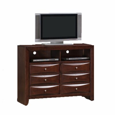 Greystone Avery 6 Drawer Media Chest