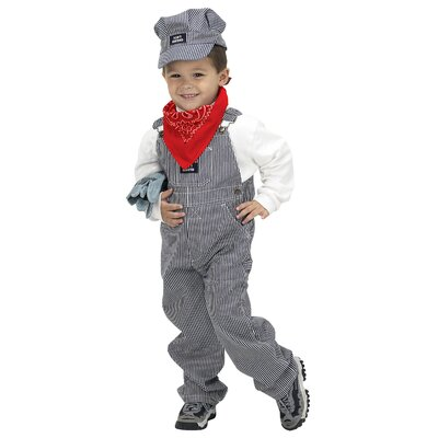 Aeromax Jr. Train Engineer Suit Costume