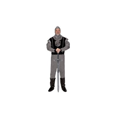 Adult Knight with Hood Costume