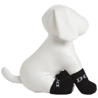 Pet Life Dog Socks with Grips (Set of 4)