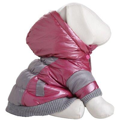 Pet Life Aspen Vintage Dog Ski Coat with Removable Hood