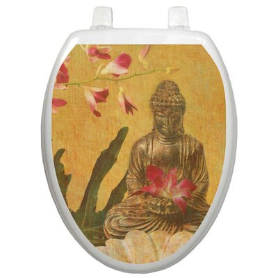 Toilet Tattoos Themes Serenity Toilet Seat Decal