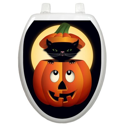 Toilet Tattoos Seasonal Peek-A-Boo Kitty Toilet Seat Decal