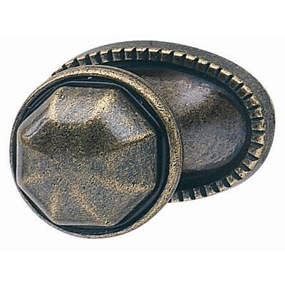 Hafele Knob in Antique Bronze
