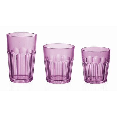"Guzzini Happy Hour 5"" Tumbler in Violet"