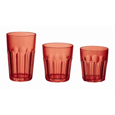 "Guzzini Happy Hour 4"" Tumbler in Red"