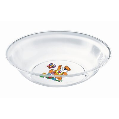 Guzzini Bimbi Soup Plate in Clear