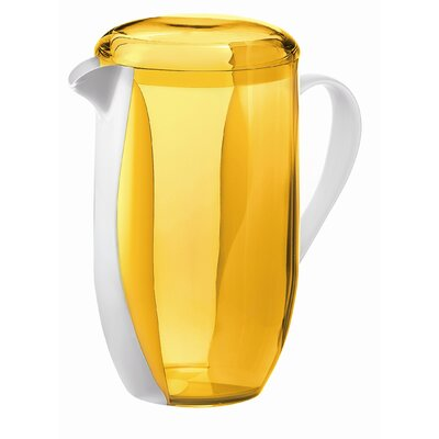 Guzzini Happy Hour Two Toned Pitcher in Yellow
