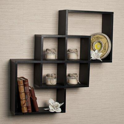 decorative wall mdf shelf wayfair. Black Bedroom Furniture Sets. Home Design Ideas