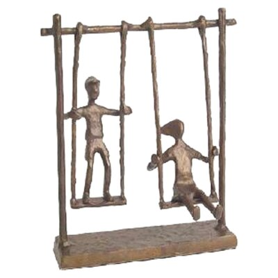 <strong>Danya B</strong> Children on Swings Figurine