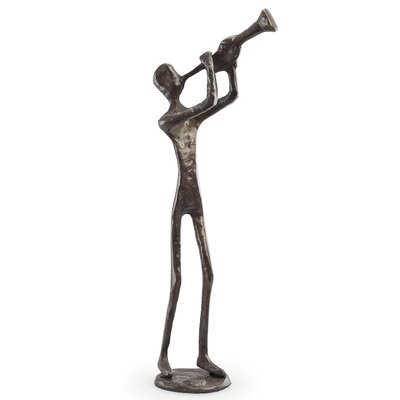 Danya B Trumpet Player Sculpture