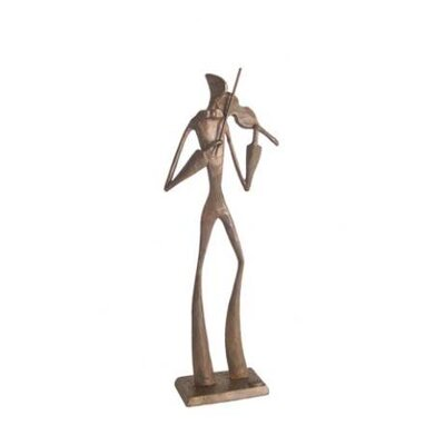 Danya B Elongated Violin Player in Cast Bronze