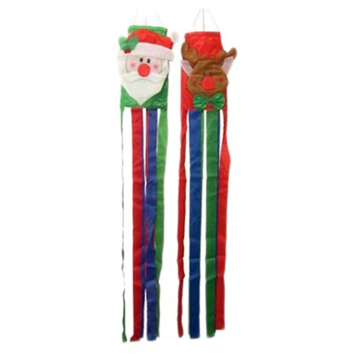 <strong>Danya B</strong> Christmas Wind Sock (Set of 2)