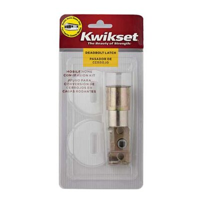 Kwikset Prestige Mobile Home Deadbolt Conversion Kit