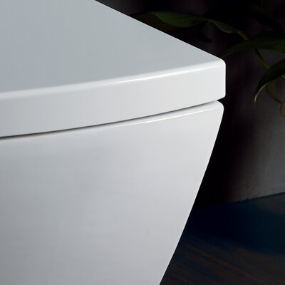 Ariel Bath Aphrodite Contemporary 1.3 GPF Elongated 1 Piece Toilet