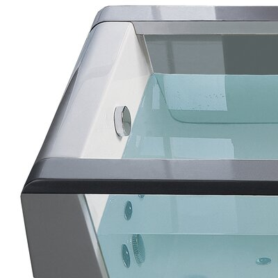 "Ariel Bath 70"" x 32"" Free Standing Whirlpool Tub"