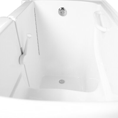 "Ariel Bath 54"" x 30"" Air Walk-in Tub"