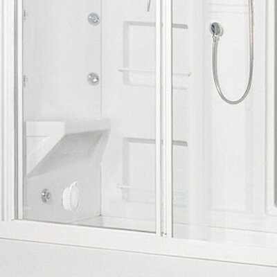 Ariel Bath Sliding Door Steam Sauna Shower
