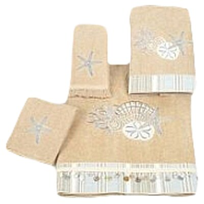 <strong>Avanti Linens</strong> By The Sea 4 Piece Towel Set