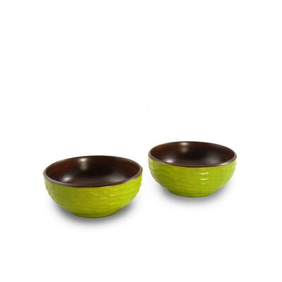 Enrico 2.25Casual Dining Side Salad Bowl (Set of 2)