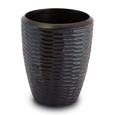 Enrico Casual Dining Utensil Vase in Chocolate