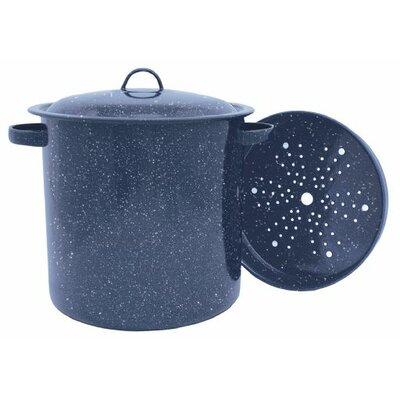 Graniteware 15.5-qt Stock Pot with Lid