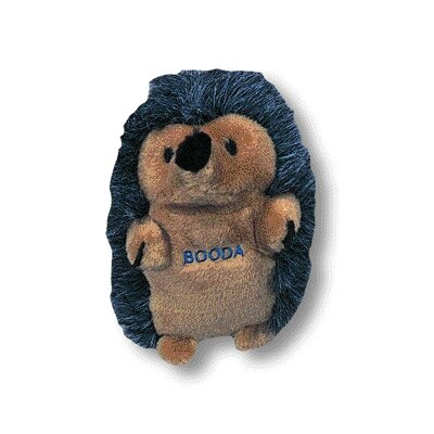 BOODA Pet Products Soft Bites Hedgehog Dog Toy
