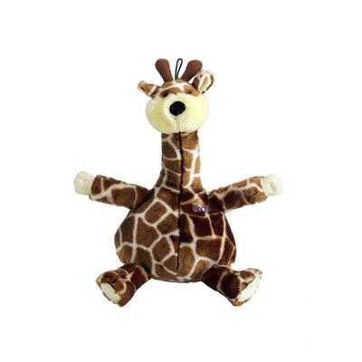 Bellies Giraffe Dog Toy