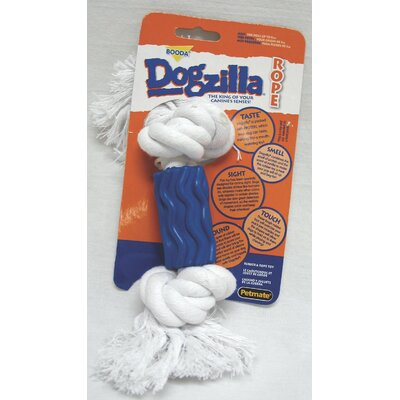 BOODA Pet Products Dogzilla Rope Bone Swirl Dog Toy
