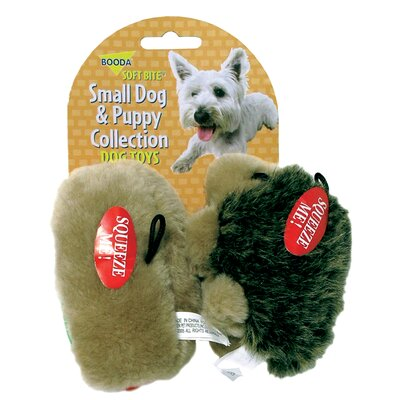 BOODA Pet Products Small Hedgehog and Hotdog Dog and Puppy Toy