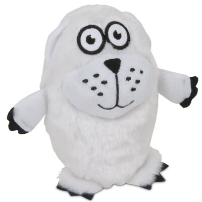 Polar Bear Grunts Dog Toy