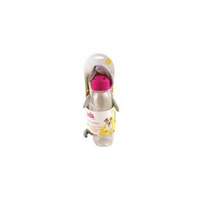 Squeakbottles Shark Dog Toy in Grey