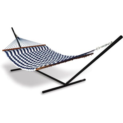 Hammaka Universal Hammock Stand with Fabric Pillow Hammock Combo