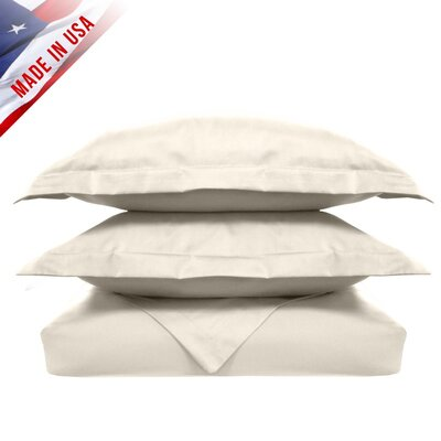 Veratex, Inc. Supreme Sateen 3 Piece Duvet Set