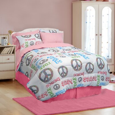 Veratex, Inc. Peace and Love Bedding Collection