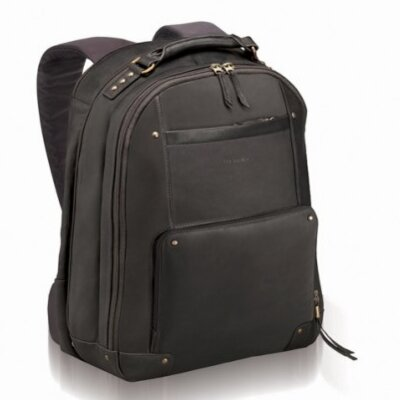 Vintage Leather Laptop Backpack