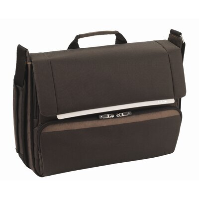 Solo Cases Studio Industry Laptop Messenger in Espresso