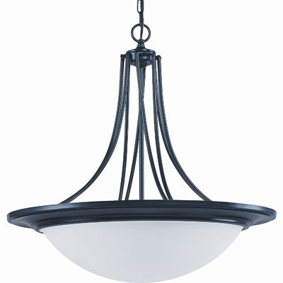 Royce Lighting Gibson 3 Light Inverted Pendant